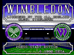 Wimbledon (Europe) Game