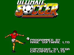 Ultimate Soccer (Europe) (En,Fr,De,Es,It) Game