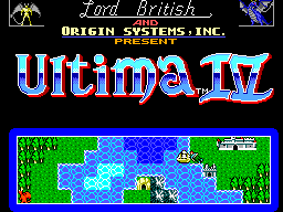 Ultima IV - Quest of the Avatar (Europe) Game