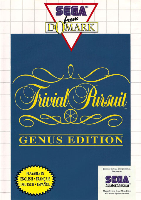 Trivial Pursuit - Genus Edition (Europe) (En,Fr,De,Es) Game