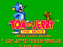 Tom and Jerry - The Movie (Europe)