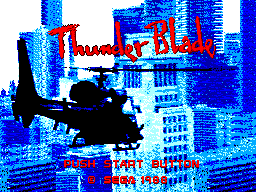 Thunder Blade (USA, Europe) Game