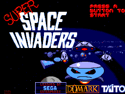 Super Space Invaders (Europe)
