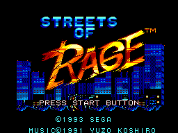 Streets of Rage (Europe)