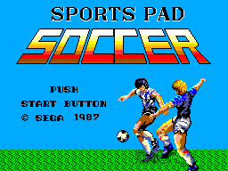 Sports Pad Soccer (Japan) Game