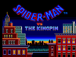 Spider-Man vs. The Kingpin (USA, Europe) Game