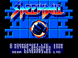 Speedball (Europe) (Mirrorsoft)