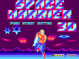Space Harrier 3D (Japan) Game
