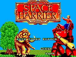Space Harrier (USA, Europe)