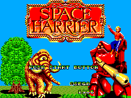Space Harrier (Japan) on sms Game