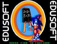 Sonic's Edusoft (Unknown) (Proto) Game
