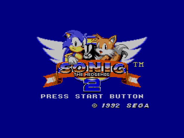Sonic The Hedgehog 2 (Europe) (v1.1)