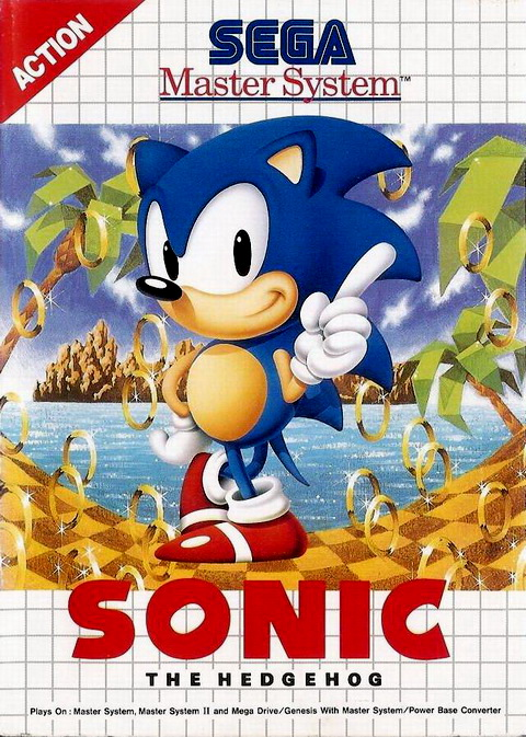 Sonic The Hedgehog (USA, Europe) Game