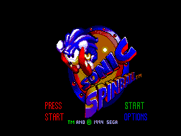 Sonic Spinball (Europe) Game