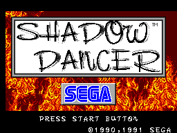 Shadow Dancer (Europe) Game
