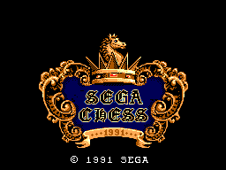 Sega Chess (Europe)