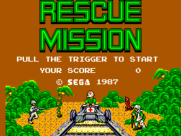 Rescue Mission (USA, Europe) Game