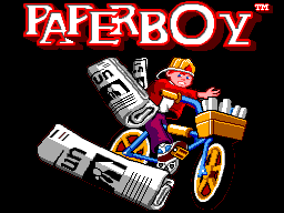 Paperboy (Europe) on sms