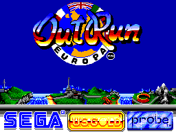 Out Run Europa (Europe) Game