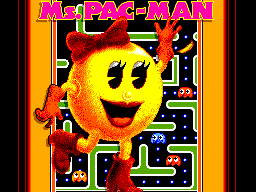Ms. Pac-Man (Europe) on sms