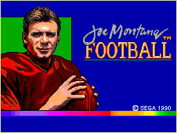 Joe Montana Football (USA, Europe)