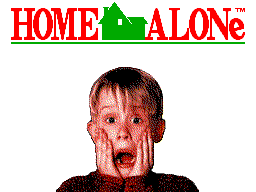 Home Alone (Europe) on sms