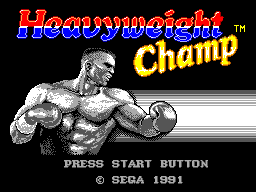 Heavyweight Champ (Europe)