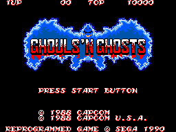 Ghouls'n Ghosts (USA, Europe)