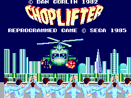 Choplifter (USA, Europe)