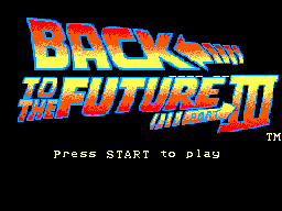 Back to the Future Part III (Europe)