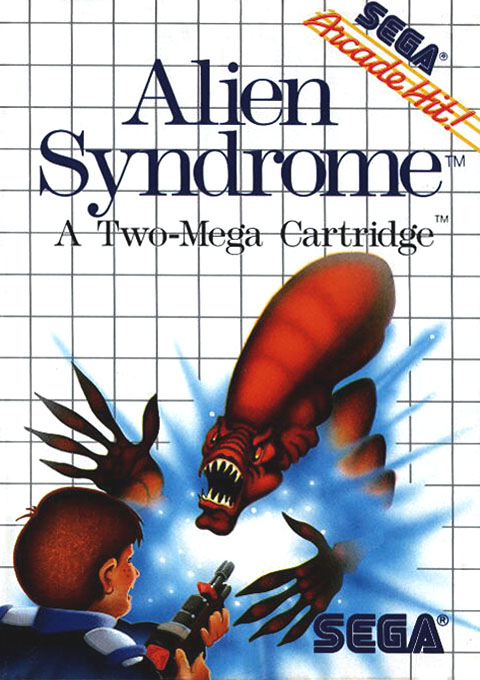 Alien Syndrome (USA, Europe)