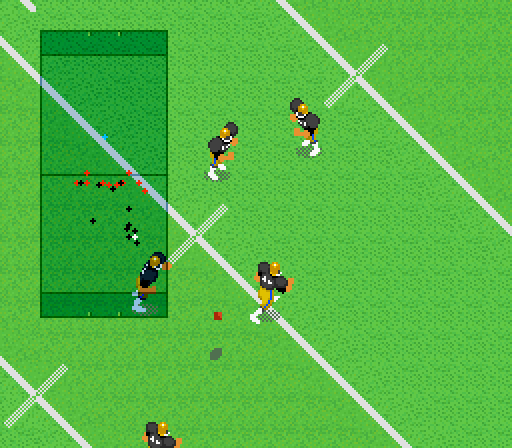 Super Play Action Football game