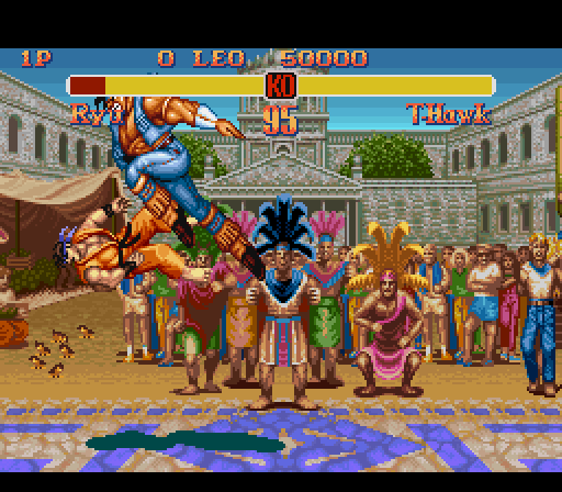 Street Fighter 2 - The New Challengers game