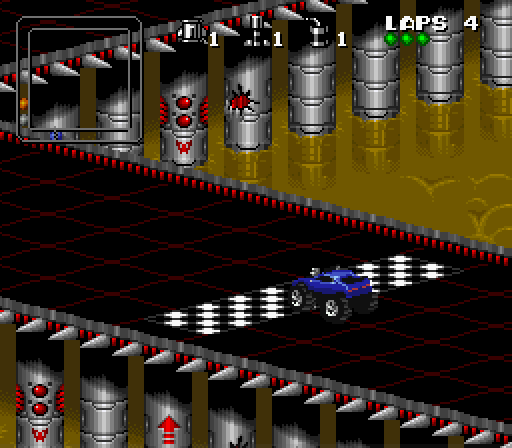 Rock and Roll Racing game