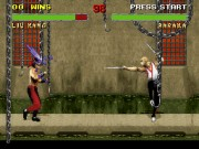 Mortal Kombat 2 on snes