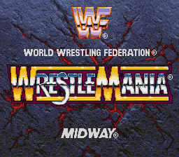 WWF WrestleMania on snes