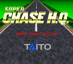Super Chase H.Q. on snes