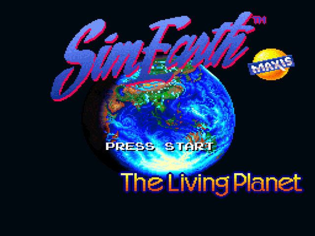SimEarth - The Living Planet on snes game