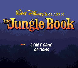 Jungle Book, The on snes