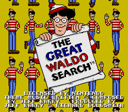 Great Waldo Search, The on snes