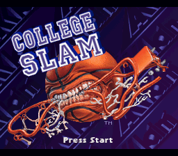 College Slam on snes