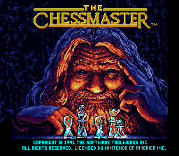 Chessmaster, The on snes