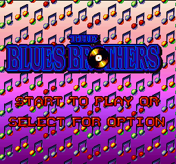 Blues Brothers, The on snes