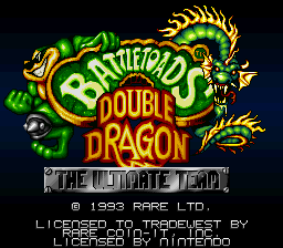 Battletoads & Double Dragon - The Ultimate Team on snes