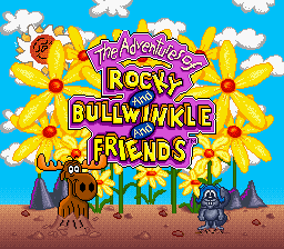 Adventures of Rocky and Bullwinkle and Friends, The on snes