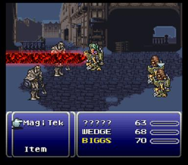 Final Fantasy III [Hack by MakouEyes v9.08] (~Final Fantasy VI - The Eternal Crystals)