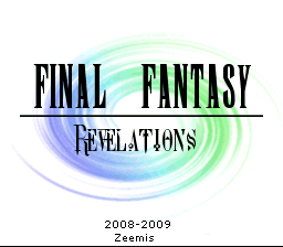 Final Fantasy III (Rev 1) [Hack by Zeemis v1.0] (~Final Fantasy - Revelations)