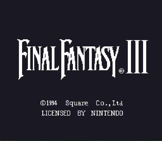 Final Fantasy III (Rev 1) [Hack by SageAcrin v1.06] (Evil Type)