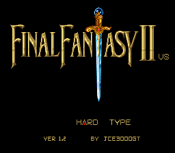 Final Fantasy II [Hack by JCE3000GT v1.2] (Hard Type)