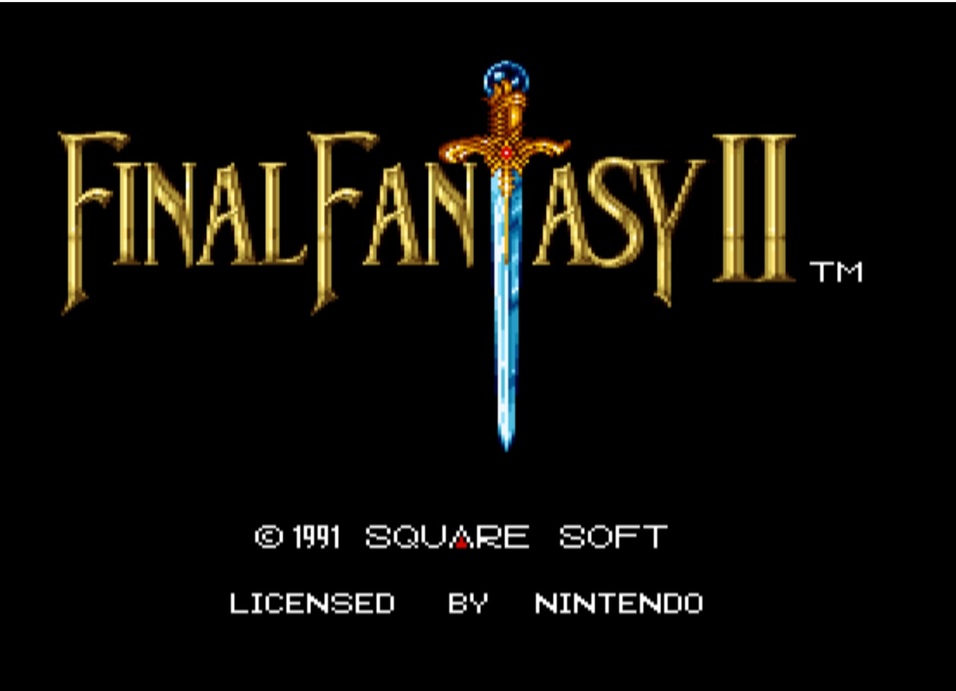 Final Fantasy II (Rev A)